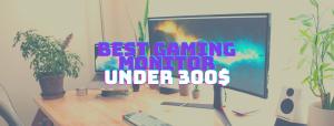 5 Best Gaming Monitors Under $300