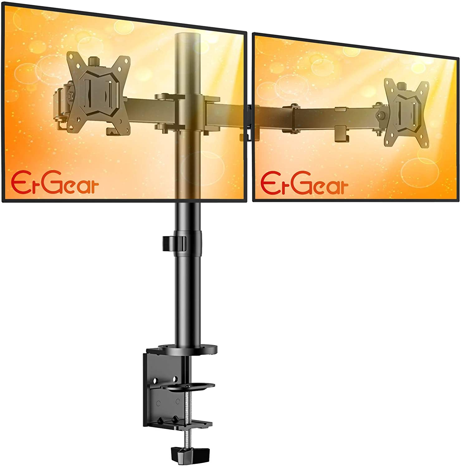 """ErGear 17-32"""" Dual Monitor Stand"""