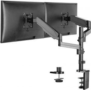 WALI Premium Dual LCD Monitor Desk Mount