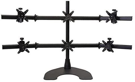 Ergotech Hex 3 Over 3 LCD Monitor Desk Stand