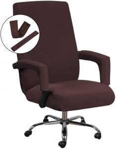 Jacquard High Stretch Office Chair Cover
