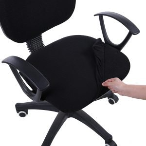 Smiry Stretch Jacquard Office Computer Chair Seat Covers