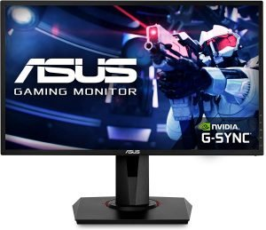 ASUS 24 1080P Gaming Monitor (VG248QG) - Full HD, 165Hz (Supports 144Hz)