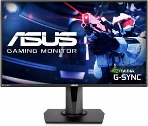 """Asus VG278QR 27"""" Gaming Monitor, 1080P Full HD, 165Hz (Supports 144Hz)"""