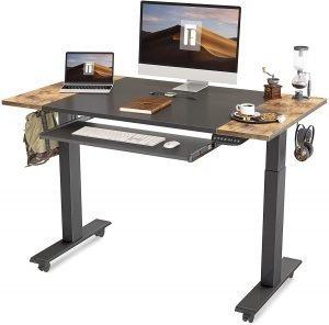 FEZIBO Dual Motor Height Adjustable Electric Standing Desk