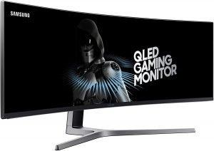 SAMSUNG 49-Inch CHG90 144Hz Curved Gaming Monitor (LC49HG90DMNXZA)